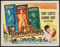 """Movie Posters:Drama, Forbidden and Other Tony Curtis Films (Universal International,1953). Half Sheets (5) (22"""" X 28""""). Drama.. ... (Total: 5 Items)"""