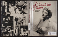 "Claudette Colbert (Crown Publishers, 1985). Autographed Book (9"" X 11"", 195 Pages). Comedy"