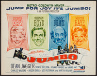"Billy Rose's Jumbo and Others Lot (MGM, 1962). Half Sheets (6) (22"" X 28""). Musical. ... (Total: 6 Items)"