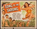 "Movie Posters:Musical, Song of the Sarong (Universal, 1945). Half Sheet (22"" X 28""). Musical.. ..."
