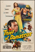 "Movie Posters:Adventure, Thief of Damascus (Columbia, 1952). One Sheet (27"" X 41"").Adventure.. ..."