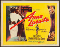 "Anna Lucasta (United Artists, 1958). Half Sheet (22"" X 28"") Style A. Black Films"
