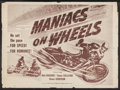 "Movie Posters:Action, Maniacs on Wheels and Others Lot (IRO, 1949). Half Sheets (3) (22""X 28""). Action.. ... (Total: 3 Items)"