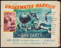 "Movie Posters:Adventure, Underwater Warrior and Other Lot (MGM, 1958). Half Sheets (2) (22""X 28""). Adventure.. ... (Total: 2 Items)"