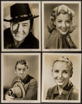 """Movie Posters:Western, Son of Roaring Dan (Universal, 1940). Portrait Photos (4) and Photos (5) (8"""" X 10""""). Western.. ... (Total: 9 Items)"""