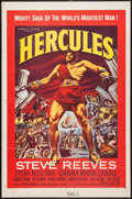 "Movie Posters:Action, Hercules (Embassy, 1959). One Sheet (27"" X 41""). Action.. ..."