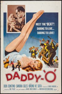 "Daddy ""O"" (American International, 1958). One Sheet (27"" X 41""). Action"