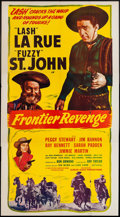 """Movie Posters:Western, Frontier Revenge (Screen Guild Productions, 1948). Three Sheet (41""""X 81""""). Western.. ..."""