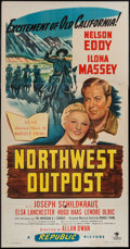 """Movie Posters:Musical, Northwest Outpost (Republic, 1947). Three Sheet (41"""" X 79"""").Musical.. ..."""