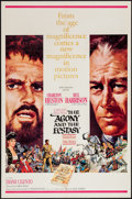 "Movie Posters:Drama, The Agony and the Ecstasy (20th Century Fox, 1965). One Sheet (27"" X 41""). Drama.. ..."