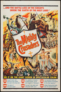 "The Mighty Crusaders (Falcon, 1960). One Sheet (27"" X 41""). Action"