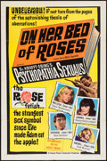 "Movie Posters:Exploitation, Psychedelic Sexualis (Famous Players Corp., 1966). One Sheet (27"" X41""). Exploitation. Also Known As: On Her Bed of Roses..."
