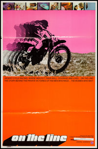 "On the Line (Interwest, 1972). Poster (26"" X 39.5""). Documentary"