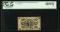 Fractional Currency:Third Issue, Fr. 1255 10¢ Third Issue PCGS Choice About New 58PPQ.. ...