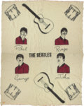 Music Memorabilia:Memorabilia, Beatles Collectible Wool Blanket, 1964....