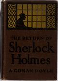 Books:Mystery & Detective Fiction, [Sir Arthur Conan Doyle]. The Return of Sherlock Holmes.Wessels, 1907. Later American edition. Publisher's cloth. B...