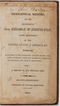 Books:Biography & Memoir, George Washington. Biographical Memoirs of the Illustrious Gen.George Washington. Fessenden, 1814. Contemporary...