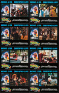 """Movie Posters:Science Fiction, Back to the Future Part II (Universal, 1989). Lobby Card Set of 8(11"""" X 14""""). Science Fiction.. ... (Total: 8 Items)"""