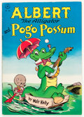 Golden Age (1938-1955):Funny Animal, Four Color #105 Albert the Alligator and Pogo Possum (Dell, 1946)Condition: FN/VF....
