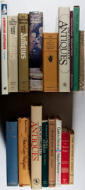Books:Art & Architecture, [Antiques]. Lot of Seventeen Books Related to Antiques. [Various publishers, dates]. Generally good.. ... (Total: 17 Items)