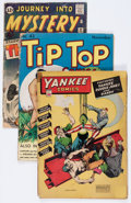 Golden Age (1938-1955):Miscellaneous, Comic Books - Assorted Golden and Silver Age Comics Group (Various Publishers, 1940s-'60s) Condition: Average GD.... (Total: 5 Comic Books)