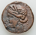 Ancients:Ancient Lots  , Ancients: CARTHAGE-ROME. Lot of four (4) diverse coins. ... (Total: 4 coins)
