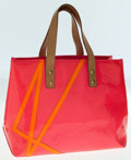 Luxury Accessories:Bags, Louis Vuitton Limited Edition by Robert Wilson Rose Pink VernisLead PM Tote Bag. ...