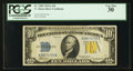 Small Size:World War II Emergency Notes, Fr. 2309 $10 1934A North Africa Silver Certificate. PCGS Very Fine 30.. ...
