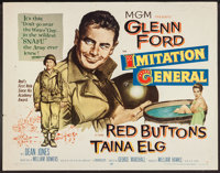 """Imitation General and Others Lot (MGM, 1958). Half Sheets (7) (22"""" X 28""""). Comedy. ... (Total: 7 Items)"""