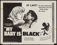 "My Baby is Black and Others Lot (American Film Distributing, 1965). Half Sheets (5) (22"" X 28""). Exploitation..."