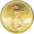 Saint-Gaudens Double Eagles: , 1922 $20 MS65 PCGS. This is a slightly better date to find in Gemcondition, and this coin has strong luster, a good strike...