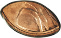 Errors: , Undated 1C Zinc Alloy Lincoln Memorial Cent--Elliptical Fragment--MS64 Red PCGS. 8 grains. This is an extremely small fragm...