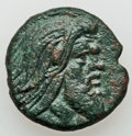 Ancients:Ancient Lots  , Ancients: CIMMERIAN BOSPORUS - PTOLEMAIC KINGDOM. Lot of four (4) AR and Æ coins.... (Total: 4 items)