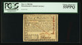 Colonial Notes:Massachusetts, Pen Cancelled Massachusetts May 5, 1780 $20 PCGS Choice About New55PPQ.. ...