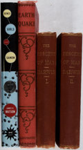 Books:Science & Technology, [Science]. Lot of Three Titles (in Four Volumes) of Various Science Books (including the first American edition of Darwin's ... (Total: 4 Items)