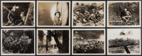 "All Quiet on the Western Front (Universal, R-1939). Photos (21) ( (8"" X 10""). Academy Award Winners. ... (Tota..."