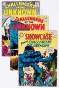 Silver Age (1956-1969):Superhero, Challengers of the Unknown Group (DC, 1957-60).... (Total: 7 Comic Books)
