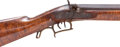 Military & Patriotic, Rare American Single-Shot Percussion Long Range Target Rifle by Chandler, Highland County, Ohio....