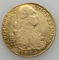 Colombia, Colombia: Charles IV gold 8 Escudos 1796-NR JJ,...