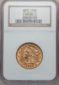 Liberty Eagles: , 1892 $10 MS62 NGC. NGC Census: (2946/686). PCGS Population(1320/253). Mintage: 797,400. Numismedia Wsl. Price for problem ...