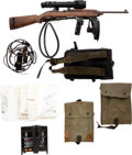 Long Guns:Semiautomatic, Rare Winchester T3 Semi-Automatic Carbine and Accessories....(Total: 2 Items)