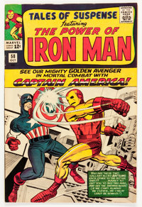 Tales of Suspense #58 (Marvel, 1964) Condition: FN-