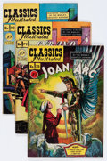 Golden Age (1938-1955):Classics Illustrated, Classics Illustrated Group (Gilberton, 1950-57) Condition: Average FN+.... (Total: 12 Comic Books)