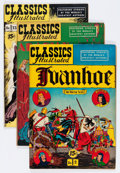Golden Age (1938-1955):Classics Illustrated, Classics Illustrated Group (Gilberton, 1950s) Condition: AverageFN.... (Total: 16 Comic Books)