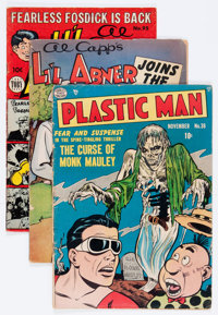 Comic Books - Assorted Golden and Silver Age Comics Group (Various Publishers, 1940s-'60s) Condition: Average GD.... (To...
