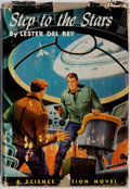 Books:Science Fiction & Fantasy, Lester del Rey. SIGNED. Step to the Stars. Winston, 1954. First edition, first printing. Signed by the author....