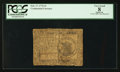 Colonial Notes:Continental Congress Issues, Continental Currency February 17, 1776 $1 PCGS Apparent Very Good08.. ...