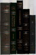 Books:Medicine, [Medicine]. Group of Five Books from The Classics of MedicineLibrary Reprint Series. Full leather. Overall fine... (Total: 5Items)