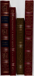 Books:Medicine, [Medicine]. Group of Four Books from The Classics of Medicine Library Reprint Series. Full leather. Overall fine... (Total: 4 Items)