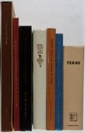 Books:Americana & American History, [Texana]. El Paso and Other Related. Group of Seven Books, Some AreFirst Editions. Very good or better condition.... (Total: 7 Items)